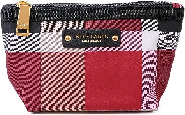 (ブルーレーベル クレストブリッジ) BLUE LABEL CRESTBRIDGE チェック プリント ポーチ ショップバッグ付