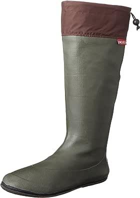 [アトム] 軽くてコンパクト 携帯するブーツ ポケブー pokeboo 両足で500g以下の軽量長靴 371 メンズ カーキ 22.5cm~23.0cm