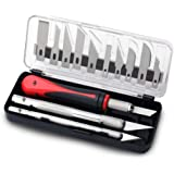 FC Precision Craft Knife Set 16 Pieces - Professional Razor Sharp Knives for Art, Hobby, Scrapbooking and Sculpture – Include