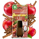 Air Wick Essential Mist, Essential Oils Diffuser, Apple and Cinnamon, 1ct, Fall scent, Fall spray, Air Freshener, Packaging M