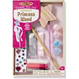 Melissa & Doug Decorate-Your-Own Wooden Princess Wand Craft Kit