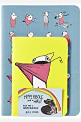Hyperbole and a Half Notebooks (Set of 3) Hardcover