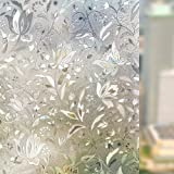 COMPANY LILI Liplasting Self Adhesive Frosted Stained Sticker Glass Static Decorative Window Film Home Privacy Decor