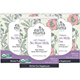 Earth Mama Organic No More Milk Tea Bags for Weaning to Help Reduce Breast Milk Production, 16 Count, Pack of 3