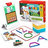 Osmo - Little Genius Starter Kit for iPad + Early Math Adventure - 6 Educational Learning Games - Ages 3-5 - Counting, Shapes