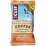 CLIF BAR Energy Bars - Coffee Collection - Caramel Macchiato (2.4 Ounce Breakfast Bars, 12 Count)