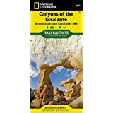 Canyons of the Escalante [Grand Staircase-Escalante National Monument] (National Geographic: Trails Illustrated Map #710): Tr