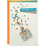 Hallmark Birthday Greeting Card (Envelope with Confetti)