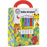 Baby Einstein - My First Library Board Book Block 12-Book Set - PI Kids