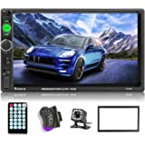 "Car Stereo 2 din car Radio 7"" HD Player MP5 Touch Screen Digital Display Bluetooth Multimedia USB 2 Din Double Din Autoradio"