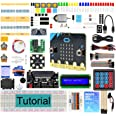 Freenove Ultimate Starter Kit for BBC Micro:bit (Contained), 305 Pages Detailed Tutorial, 225 Items, 44 Projects, Blocks and
