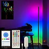 CYBEAR Smart LED Floor Lamp - NextGEN Tuya Smarthome Control - Designed for Gamers and Streamers - Ambient Mood Lighting RGB