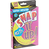 Learning Resources LER3044 Snap It Up! Addition and Subtraction Card Game,,Multicolor