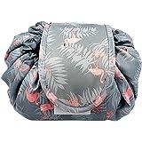 1 Pack Makeup Bag Travel Cosmetic Bag Drawstring Makeup Bag Lazy Cosmetic Bag Storage Bag Pouch Travel Storage Bag