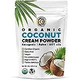 Earth Circle Organics - Organic Coconut Cream | Milk Powder, Perfect Keto Coffee Creamer - High in MCT Oil, Vegan, No Added S