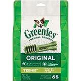 Greenies Dental Treats for Teenie Dog, 65 treats, Puppy/Adult, Small