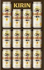 【お歳暮ギフト好適品】キリン一番搾り生ビールセット350ml×10本、500ml×2本K-IS3