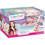 Make It Real - Ultimate Bead Studio. DIY Tween Girls Beaded Jewelry Making Kit. Arts and Crafts Kit Guides Kids to Design and
