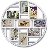 umbra 壁掛けフォトフレーム LUNA FRAME ART(ルナウォールフレーム アート) ホワイト 2311120-660