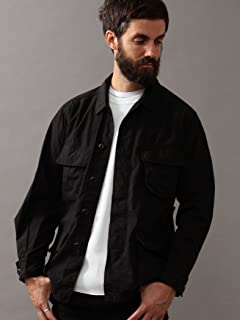 Cotton Fatigue Shirt 1225-199-7875: Black