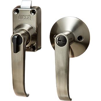 マツ六 ECLE バリアフリーレバーハンドル錠 トイレ用 BS53mm 外開き