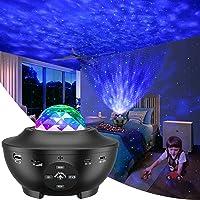 LBELL スタープロジェクターライト ベッドサイドランプ 投影ランプ プラネタリウム Bluetooth/USBメモリ…
