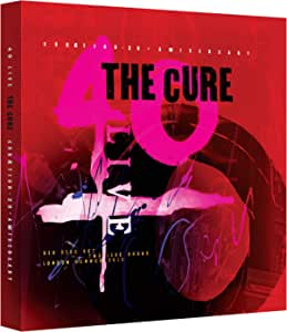 The Cure - 40 Live Curaetion 25 + Anniversary (2BR/4CD) [Blu-ray]