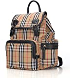 Nappy Bag Backpack, Pipi bear Baby Bag for Boys Girls, Multifunctional Nappy Bag with Stroller Hooks, Waterproof Stylish Trav