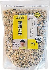 ねかせ雑穀玄米 1ケース(900g×6袋)