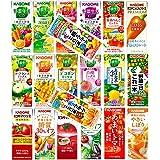 カゴメ 野菜生活100・野菜/フルーツジュース 200ml紙パック 12種類各2本 24本(種類は当店任せになります)