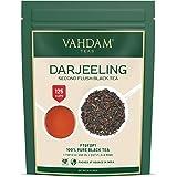 VAHDAM, Darjeeling Tea Leaves from Himalayas (120+ Cups), 100% Certified Pure Unblended Darjeeling Black Tea, FTGFOP1 Grade