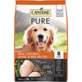 Canidae PURE Grain Free, Limited Ingredient Dry Dog Food, Chicken, Lentil and Pea, 4lbs