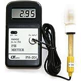 マザーツール 水質検査用 プール・水槽などに 基準液付属 軽量・小型のハンディタイプ デジタルPHメータ PH-201