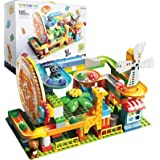 WYSWYG スロープトイ ブロック おもちゃ 積み木 ルーピングコースター 知育のおもちゃ 玩具 立体パズル 子供 プレゼント 誕生日 プレゼント(185PIC)
