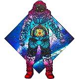 ジグソーパズル 木製パズル 幼児 宇宙飛行士 103個ジグソーピース 18x 20cm プレゼント かっこいい ユニーク 大人 パズル 子供