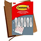 Command 6 Cord Bundlers, GP304-6NA, Each bundler holds up to 2 pounds in easy to open packaging, 6 bundlers and 12 strips, Wh