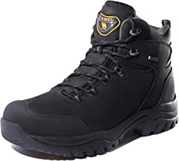 CAMEL CROWN 登山靴 メンズ レディース トレッキングシューズ ウォーキングシューズ 本革 ハイカット 防滑 防振 通気 吸汗 耐磨耗 アウトドア ハイキング カジュアル 遠足 山道 日常着用