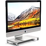 Satechi Aluminum Universal Unibody Monitor Stand Compatible with 2017 MacBook Pro, iMac Pro, Google Chromebook, Microsoft Sur