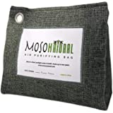 MOSO NATURAL Stand-Up Air Purifying Bag. Odor Eliminator, Odor Absorber for Home and Basement. Charcoal Color 600g