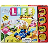 Game Of Life Junior - Introduction To The Classic Game - 2 To 4 Players - Board Games and toys for kids, boys, girls - Ages 5