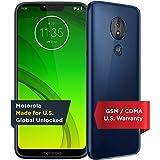Moto G7 Power - Unlocked - 32 GB - Marine Blue (US Warranty) - Verizon, AT&T, T-Mobile, Sprint, Boost, Cricket, & Metro