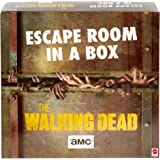 Escape Room in a Box:The Walking Dead Board Game, Party Game for 4 to 8 Players with Clues & Puzzles Inspired by AMC TV Serie