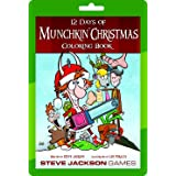 Steve Jackson Games 12 Days of Munchkin Christmas Coloring Book Colouring Book