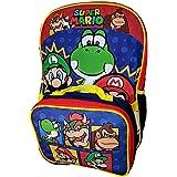 Super Mario Backpack & Lunch Bag