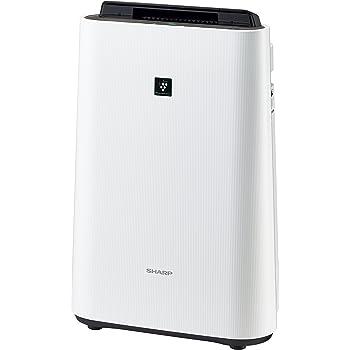 シャープ 加湿 空気清浄機 プラズマクラスター 7000 スタンダード 11畳 / 空気清浄 18畳 ホワイト KC-E40-W