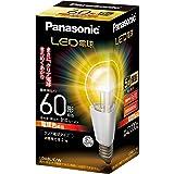 パナソニック LED電球 E26口金 電球60形相当 電球色相当(8.2W) 一般電球・クリアタイプ LDA8LCW
