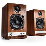 【国内正規品】Audioengine オーディオエンジン HD3 ワイヤレス・パワードスピーカー (ウォールナット)