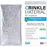 Crinkle Material Plastic Film | 1 Sq Yard - Commercial Grade Crinkle - Add Texture & Noise to Toys | Noise Making Crinkle Cri