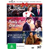 Hallmark Christmas 3 Film Collection (Santa's Secret aka Christmas at Cartwright's/Family for Christmas/The Mistletoe Promise