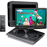 MYDASH Portable DVD Player 12.5 for Car and Kids, 2020 New cd Player Portable with 10.1-inch Swivel Display Screen, SD Card S